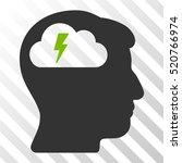 brainstorming vector pictograph.... | Shutterstock .eps vector #520766974