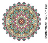 mandala. ethnic decorative... | Shutterstock .eps vector #520774150