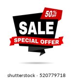 super sale poster. big sale ... | Shutterstock .eps vector #520779718