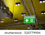emergency exit sign in modern
