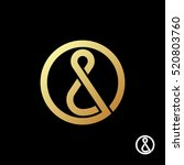 ampersand logo template. the... | Shutterstock .eps vector #520803760
