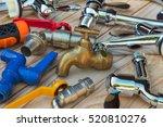 water tap | Shutterstock . vector #520810276