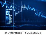 investment growth concept with... | Shutterstock . vector #520815376