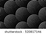 abstract dot pattern. | Shutterstock .eps vector #520817146
