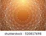 geometric graphic background... | Shutterstock .eps vector #520817698