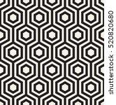 vector seamless pattern. modern ... | Shutterstock .eps vector #520820680