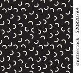 vector seamless pattern.... | Shutterstock .eps vector #520820764