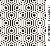 vector seamless pattern. modern ... | Shutterstock .eps vector #520820794