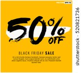 Stock vector  off black friday sale promotional poster design vector illustration with text box template 520821736