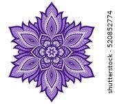 color circular pattern  ...   Shutterstock .eps vector #520852774