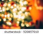 beautiful defocused background... | Shutterstock . vector #520857010