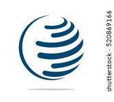 Globe Logo Template For...