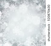 abstract winter background... | Shutterstock . vector #520870630
