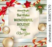 Holidays Greeting And Christma...