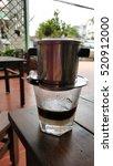 a vietnamese coffee milk on the ...   Shutterstock . vector #520912000