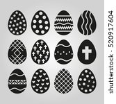the egg of 12 icon. easter...