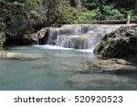 thailand. waterfall | Shutterstock . vector #520920523