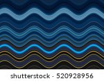 colorful wavy stripes pattern.... | Shutterstock . vector #520928956