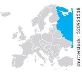 map europe vector | Shutterstock .eps vector #520931518