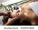 skin and body care. close up of ... | Shutterstock . vector #520937860