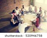 exercise international group... | Shutterstock . vector #520946758