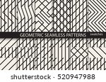 collection of geometric... | Shutterstock .eps vector #520947988