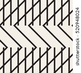 striped geometric seamless... | Shutterstock .eps vector #520948024