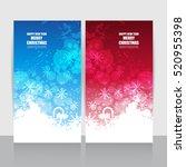 christmas sale banner | Shutterstock .eps vector #520955398