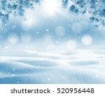Winter Bright Background....