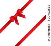 ribbon  icons. vector... | Shutterstock .eps vector #520963693