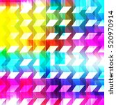 bright psychedelic abstract... | Shutterstock .eps vector #520970914