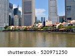 singapore  singapore   august 4 ... | Shutterstock . vector #520971250