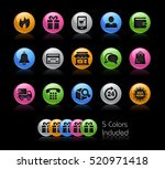 e shop icons   the file... | Shutterstock .eps vector #520971418