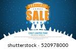 horizontal web banner design... | Shutterstock .eps vector #520978000