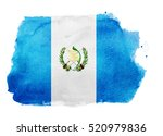 watercolor flag background.... | Shutterstock . vector #520979836