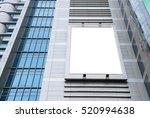 blank advertising billboard in... | Shutterstock . vector #520994638