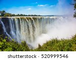 The Famous Victoria Falls On...