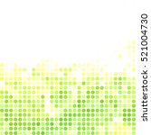 green random dots background ...   Shutterstock .eps vector #521004730