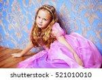 Pretty Little Girl In Beautifu...
