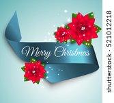 christmas decoration of light... | Shutterstock .eps vector #521012218