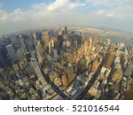 new york manhattan skyline | Shutterstock . vector #521016544