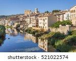 matarranya river and... | Shutterstock . vector #521022574