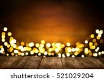 Festive Wooden Background With...