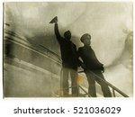 ussr   circa 1970s  an antique... | Shutterstock . vector #521036029