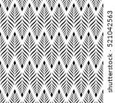 vector seamless pattern. modern ...   Shutterstock .eps vector #521042563