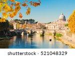 Rome Cityscape  St. Peter's...