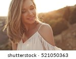beautiful woman | Shutterstock . vector #521050363