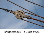 Detail Of Deck  Pulley Block...