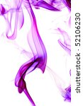 colored smoke isolated on a... | Shutterstock . vector #52106230