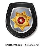 police badge vector... | Shutterstock .eps vector #52107370